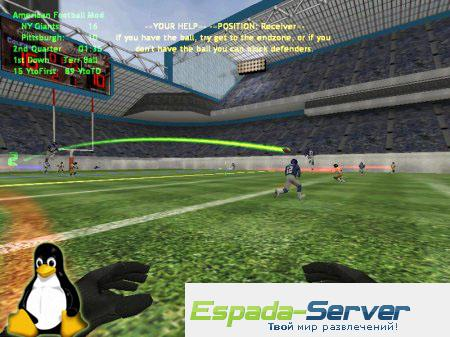 Готовый сервер by FIELD LINE for Linux v1.4 American Football Mod V.5.0