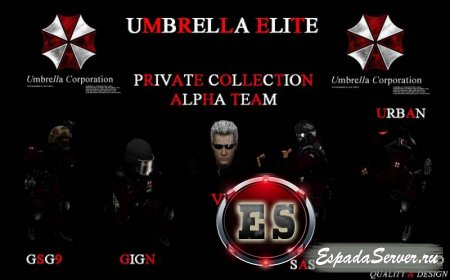 Private Collection - Umbrella Elite Alpha Team