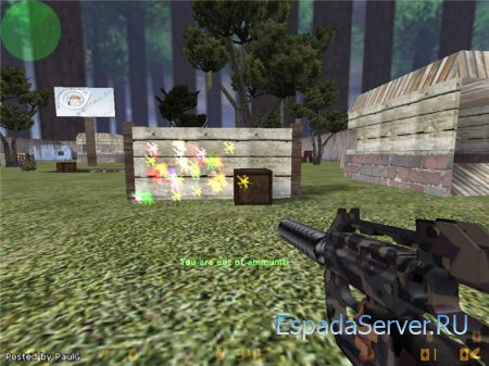 [Мод]Paintball Gun & Mod 1.1