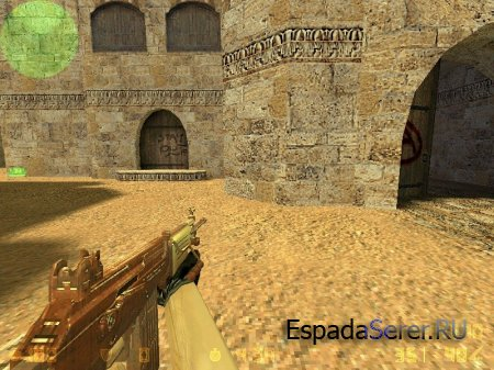 Chocolate Galil для CS 1.6