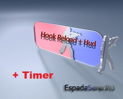 Hook Reload + Hud + Timer