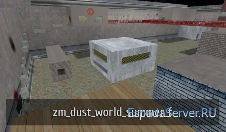 Карта zm_dust_world_summer_f