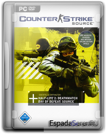 Counter-Strike Source (Valve/ 2006/ RUS/ v1.0.0.60[non-steam] [R] RG Virtus