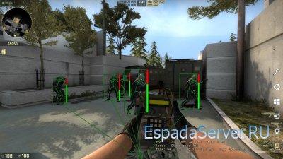 OpenGL Overlay ESP для CS:GO
