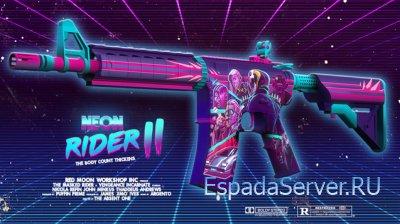 M4A4 | Neon Rider II скачать для cs 1.6