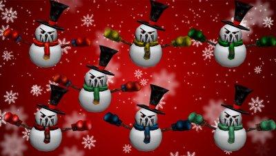Новогодняя модель снеговика для кс 1.6