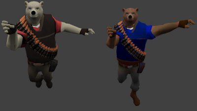 Модели «Heavy Bear» для CS 1.6