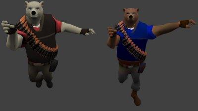 Модели «Heavy Bear» для CS 1.6