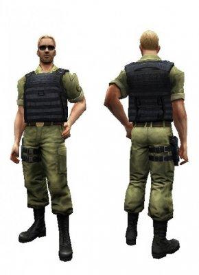 Модель игрока Виктор