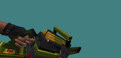 Модель бензопилы [Chainsaw] (LEGO) для CS 1.6