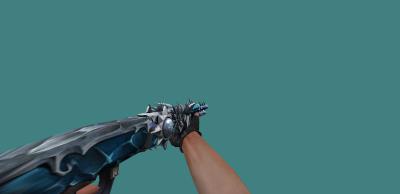 Модель оружия [SPAS-12] (Wolf) с анимацией осмотра для CS 1.6