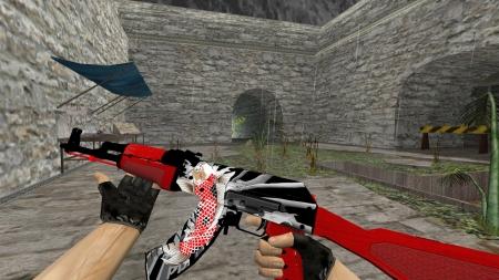 Модель AK-47 «893 Collection» для CS 1.6