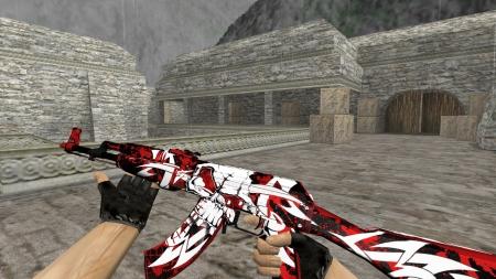 Модель | AK-47 «Reaper» для CS 1.6