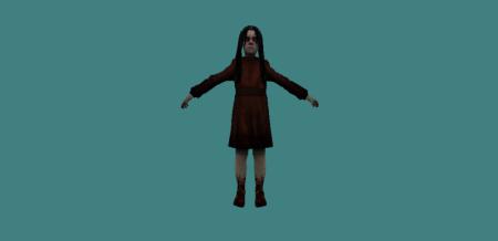 Модель зомби «Alma Wade» для КС 1.6