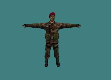 Модель Южно Вьетнамского Солдата для КС 1.6
