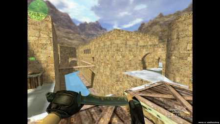 Карта de_dust2002_winter  для кс 1.6