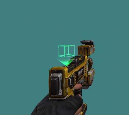 Модель пистолета «Voxel Short Gun» для КС 1.6
