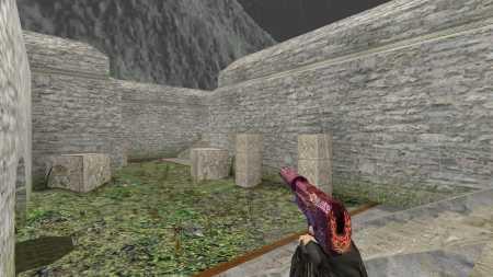 Модель HD USP-S «Nightfire Dragon» для CS 1.6