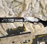 Модель HD Sawed-Off Shotgun «BAAL» с анимацией осмотра  для CS 1.6
