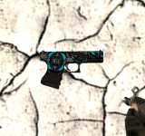 Модель HD Glock-18 «Fowl Thing Neptune» из CS:GO для CS 1.6