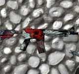 Модель HD M4A4 «De Jackal» из CS:GO для CS 1.6