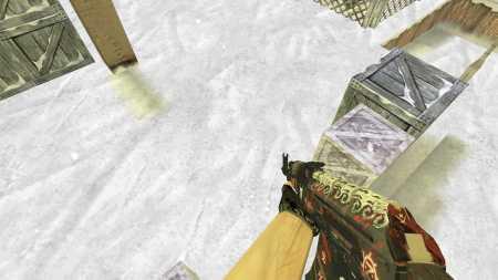 Модель HD AK-47  «Demon Hunter» из CS:GO для CS 1.6