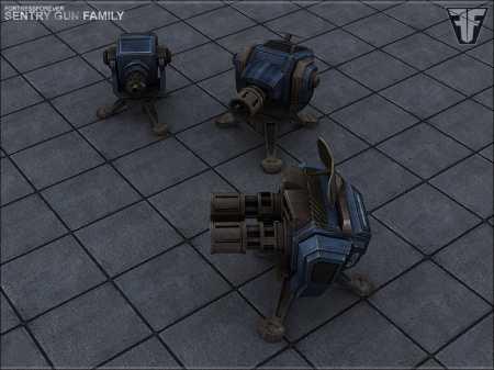 Плагин Sentry Gun (Пушки с прокачкой) для CS 1.6