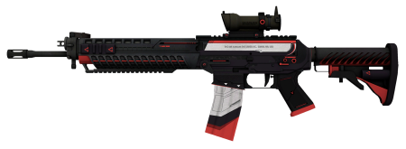Модель HD SG 553 «Сайрекс» с анимацией осмотра для CS 1.6