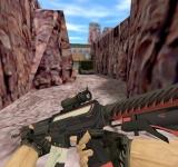 Модель HD SG 553 «Сайрекс» с анимацией осмотра для CS 1.6