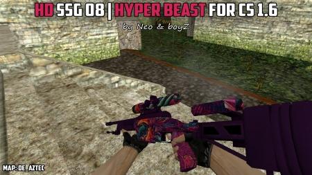 HD Модель SSG 08 «Hyper Beast» для КС 1.6