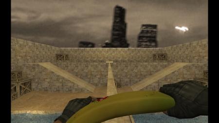 HD Модель ножа «Банан» для CS 1.6