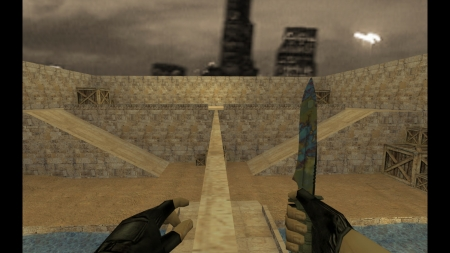 HD Модель ножа «Case Hardened» для CS 1.6