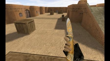 HD Модель ножа «Engraved Blade» для CS 1.6