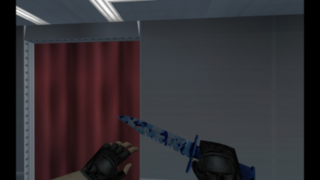 HD Модель ножа  «M9 Bayonet | Bright Water» для CS 1.6