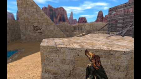 HD Модель Deagle «Warcraft»  для CS 1.6