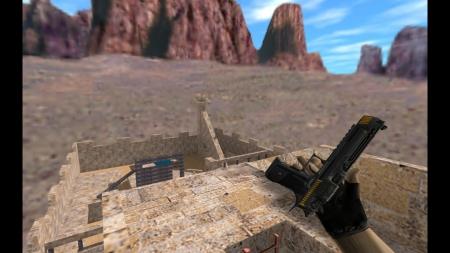 HD Модель Deagle «Cyberwanderer Black» для CS 1.6