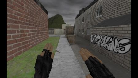 HD Модель ножа «Кунг Фу» для CS 1.6