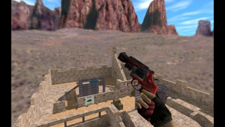 HD Модель  R8 Revolver «Obsidian» для CS 1.6