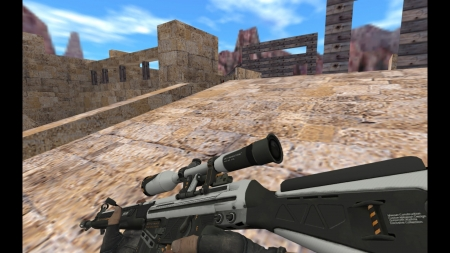 HD Модель  G3SG1 «Bulletproof» для CS 1.6