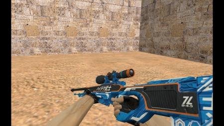 HD Модель  AWP «Ronin Evolved» для CS 1.6
