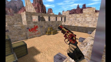 HD Модель R8 Revolver «Dragon Soul» для CS 1.6