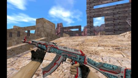 HD Модель  AK-47 «Odyssey» для CS 1.6
