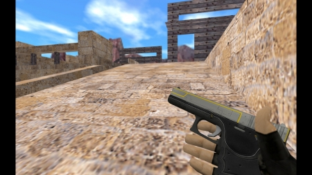 HD Модель  Glock «Technical»  для CS 1.6