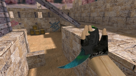 HD Модель ножа  «Karambit | Gamma Doppler: Phase 3» для CS 1.6