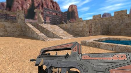 HD Модель  Famas «Venice» для CS 1.6