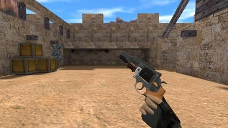 HD Модель  R8 Revolver «Arhtrase» для CS 1.6