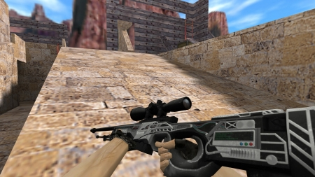 HD Модель  AWP «Hidden Threat» для cs 1.6
