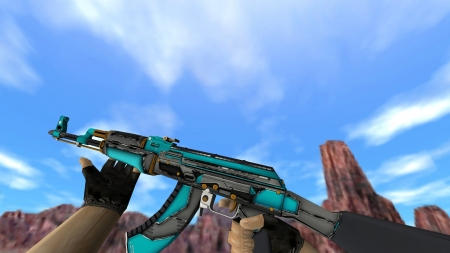 HD Модель AK-47 «Overdrive» для CS 1.6